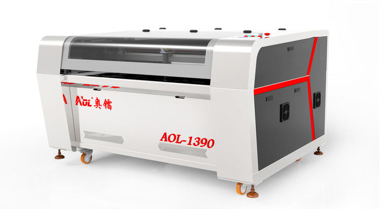 Industrial CO2 Laser Cutting Machine For PVC / Wall Decoration Sticker 1300 X 900 mm