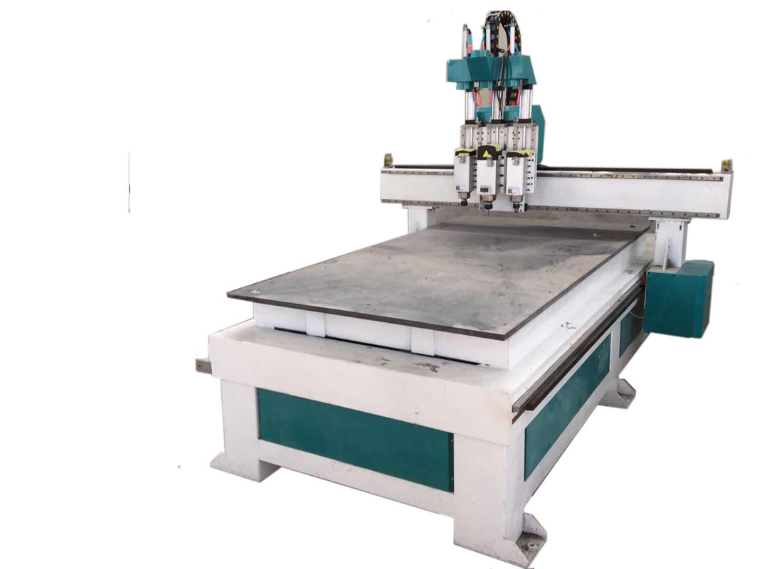 4.5KW Spindle 3D CNC Wood Router , Practical Cnc Wood Cutting Engraving Machine