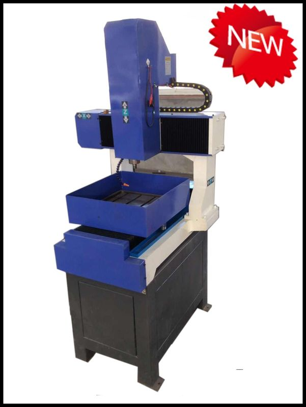 DSP Handle Desktop Cnc Milling Machine , Small C And C Router 300 X400mm